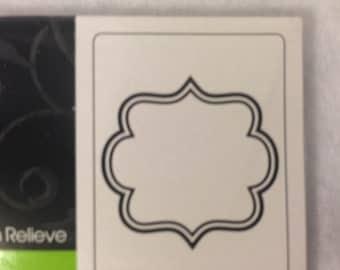 Darice - Square Framed Embossing Folder