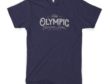 Olympic National Park Cotton T-Shirt