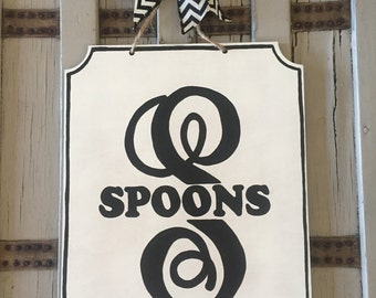 Name sign, wedding gift, monogram family name