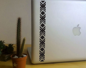 FUN STICKER, laptop decals, native motif