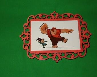 Disney's Wreck It Ralph Plaque - Ralph and Vanellope