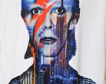 David Bowie shirt ,gift,David Bowie,shirt,ziggy stardust, bowie shirt,david bowie t, david bowie shirt,david bowie tees,,rock t shirt.