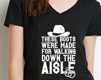 These boots were made for walking |Country Bride