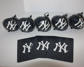 New York Yankees Ornaments : Single or Set of 5