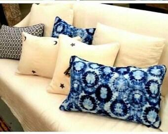 Cushions Tay & Dye blue 50 x 50