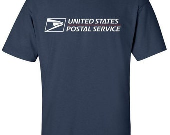 USPS t-shirt brand new Navy Blue BUY 2 get 1 FREE promotion!