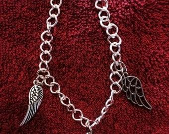 Angel & Love Charm Bracelet