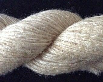 100% slub silk yarn 50g lace weight