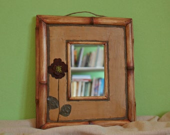 Natural Flower Mirror