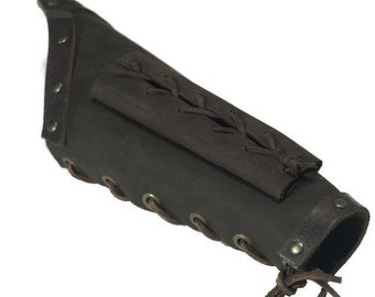 Medieval Assassin's Bracer with Dagger Scabbards, larp,  Viking, SCA, renaissance