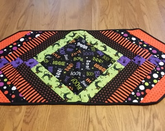Halloween Boo Table Runner