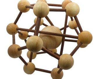 Wooden Toy : The Galaxy puzzle - The Organic Natural Puzzle Game Play for Baby and Kids