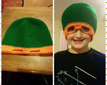 Ninja turtle hat mask