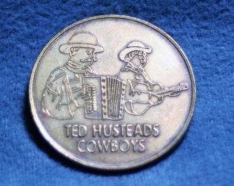 Coin, Ted Husteads Cowboys Wall Drug South Dakota Coin Part 83