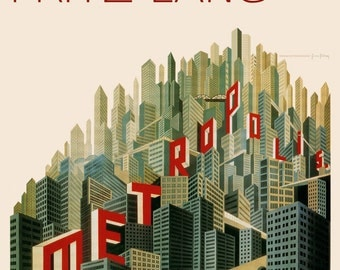 Metropolis - 1927 Remastered Poster - Art Print