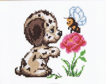 Cross Stitch Kit Who are you? GN