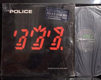 Rock LP - Police - Ghost in the Machine, A&M SP-3730