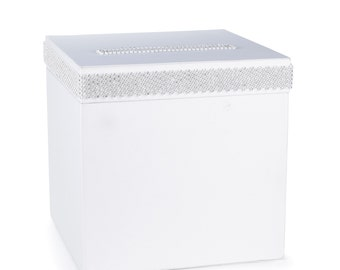 Wedding Reception Card Box With  Bling