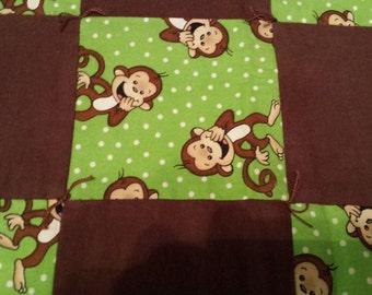 Little brown monkey
