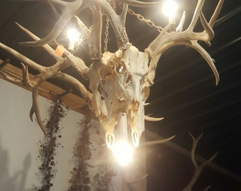 Antler Chandelier Farmhouse