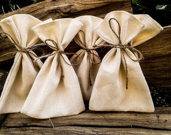 set of 20,rustic favor bags, Gifts, burlap thank you bag, Rustic gift bag, Candy Bag, Rustic Wedding Favor Bag