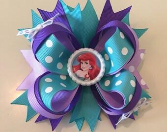 Ariel, The Little Mermaid Hairbow