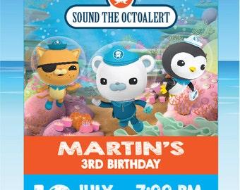 Octonauts Birthday Invitation, Octonauts Birthday - octonauts invitation - octonauts printable - Octonauts Party, Octonauts Birthday - ms03