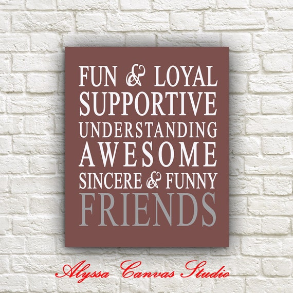 Quotes About Best Friends Gift : Personalized best friend gift quotes to canvas by