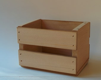 Rustic Recycled Wooden Crate