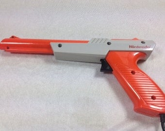 NES Zapper Gun - Nintendo Zapper - NES Light Gun - Duck Hunt Gun - Super Mario Bros