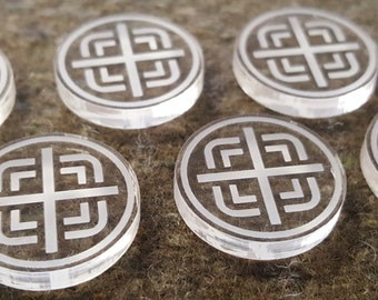 Objective Marker Tokens (6)