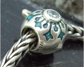 Christmas Ornament Snowflake Limited LTd European Charm Bead Chamilia Sterling Silver 925