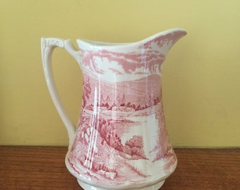 Vintage English Alfred Meakin Pitcher Tintern