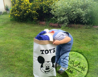 Eco-paper bag for toys