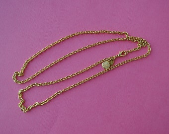 Kirks Folly Chain, Long Chain Necklace, 30 inch necklace, Kirks Folly Jewelry, Kirks Folly Necklace, Long Gold Chain, Gold Necklace GS#232
