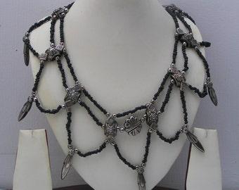 MASSIVE Gypsy Tribal Bib Necklace