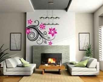 Flower Swirl (Wall Art)