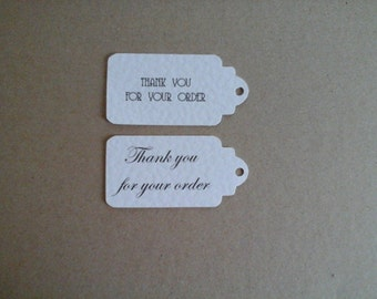 Thank you for your order luggage tags