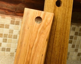 Cherry and White oak Cheeseboards