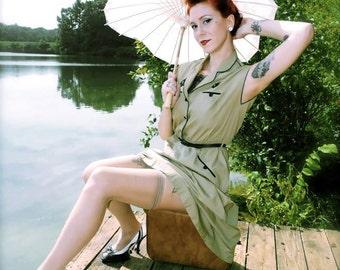 Vintage Anchor Dress