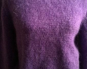 Mohair handknitted Sweater