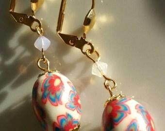 Easter Egg Dangle earrings