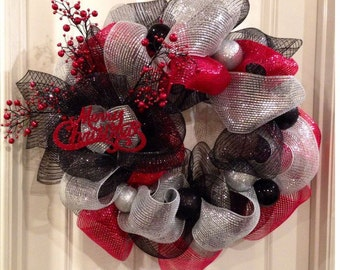 Modern Chritmas Wreath