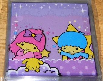 10 Little Twin Stars Self Sealing Kawaii Baggies 4x4 Inches