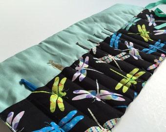 Crochet roll (dragonfly)