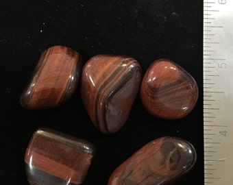 Tumbled Red Tiger eye