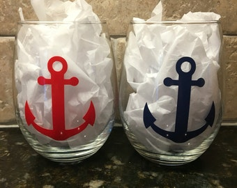 Anchor Wine Glass - single glass