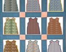Flour Sack dress machine embroidery Applique design,4 sizes,8 formats(dst,exp,jef,hus,pes,vip,vp3,xxx),instant download,1 zip files