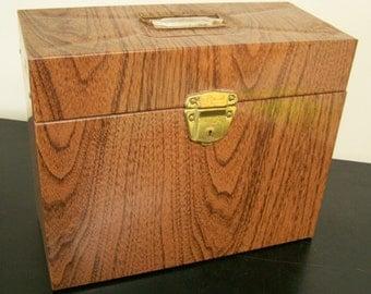 Vintage Ballonoff Porta File (No Key) Made in USA Mid-Century metal file box