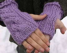 Summer sale! Fingerless gloves. Lavender fingerless gloves. Arm warmers. Hand warmers. Boho. Winter wear. Mittens. All colors available.